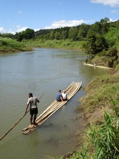 Bilibili Rafting in Fiji