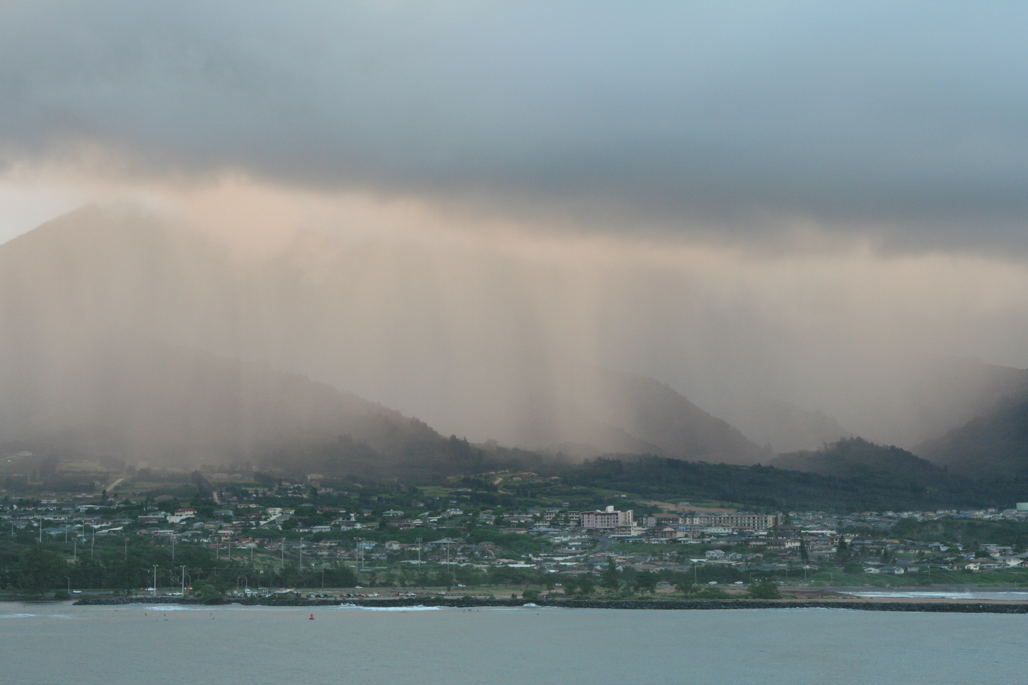 Going to Hawaii? Pack your umbrella!